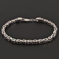 Königsarmband-Silber
