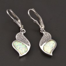 Silberohringe mit Opalit