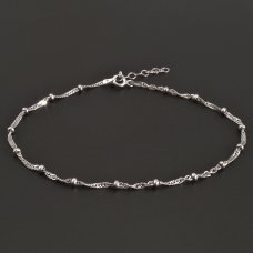 Fußkette-Silber