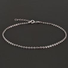 Silber 925-Fußkette