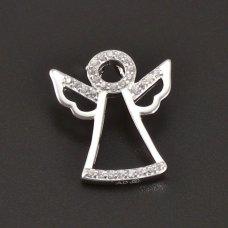 Silberengelanhänger mit Zironen