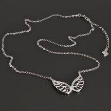 Silberkette-Engelsflügels