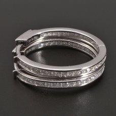 Silbercreolen Durchschnitt 24mm