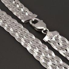 Silber-Zopfkette