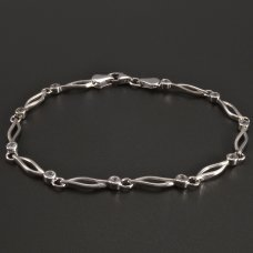 Armband-Weißgold 585