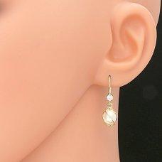 Ohrhänger mit Süßwasserzuchtperle
