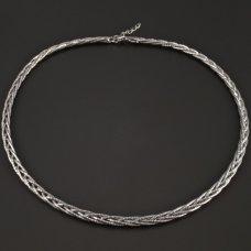 Zopfcollier Silber