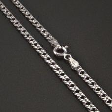 Doublepanzer-Silberkette