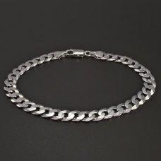 Silberpanzer-Armband