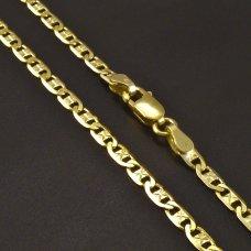 Goldkette mit Karabinenverschluss