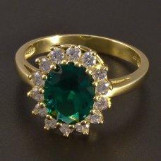 Goldring 585 Smaragd