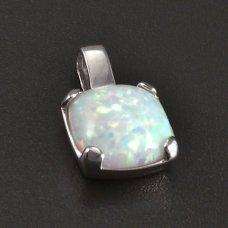 Opal in Silberanhänger