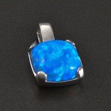 Silberanhänger mit Opal