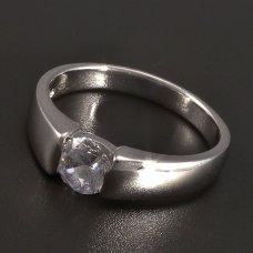 Silbr-Ring-Zirkon
