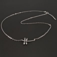 Silberkette mit Libelle