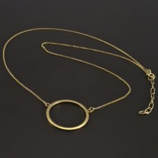 Gold 585 Halskette Kreis