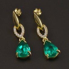 Goldene Ohrringe 585/1000