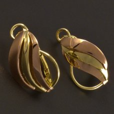 Damen-Golden-Ohrringe