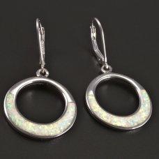 Silberne Ohrringe- rund