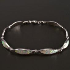 Opal-Silber-Armband