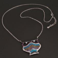 Silberkette-Eule 925