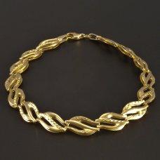 Armband- Gelbgold