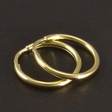 Gold-Collier-Durchschnit 12 mm