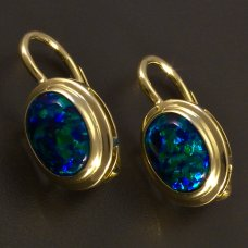 Gold-Ohrringe-Opal