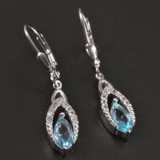 Silber-Ohrhänger
