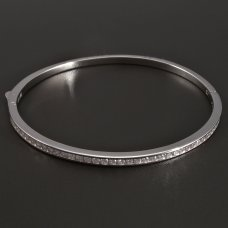Silber-Ellipse-Armband