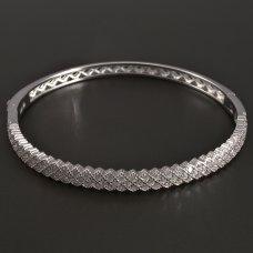 Silber-Armband-Zirkone