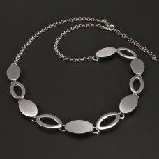 Silber-Collier