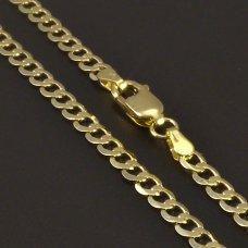 Goldkette 585/1000 Panzer