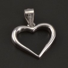 Silber-Anhänger-Herz