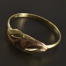 Ring in Gold 585 Hand Arbeit