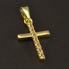 Gold-Anhänger-Kreuz