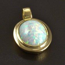 Opal Anhänger Gold